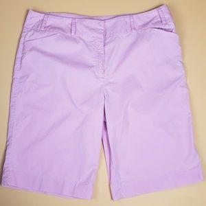 Tyler Boe Pink Bermuda Shorts